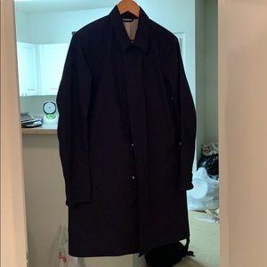 Theory Mac Coat(Navy)